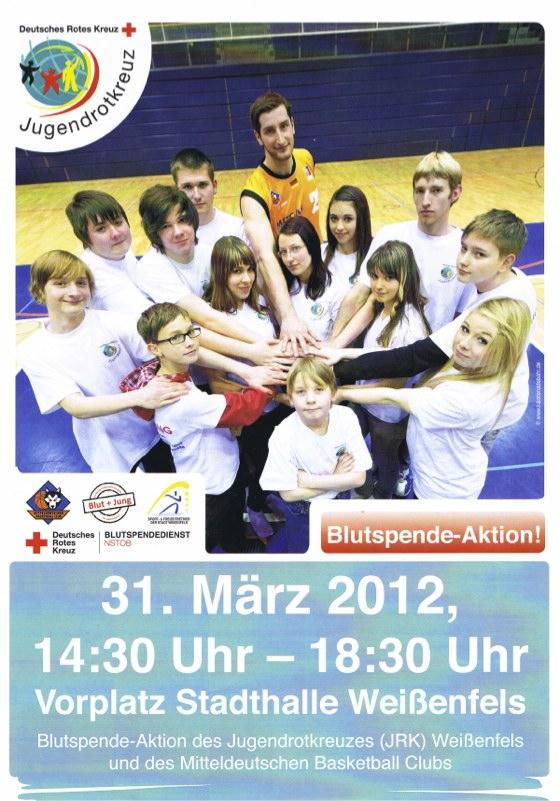 Jugendrotkreuz - Blutspendenaktion